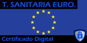 Tarjeta Sanitaria Europea con Certificado Digital