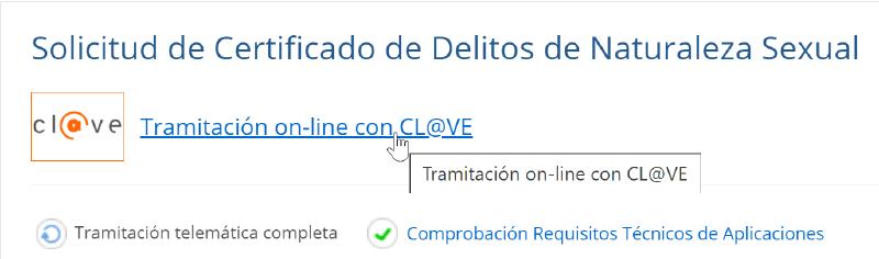 Comenzar solicitud con Certificado Digital